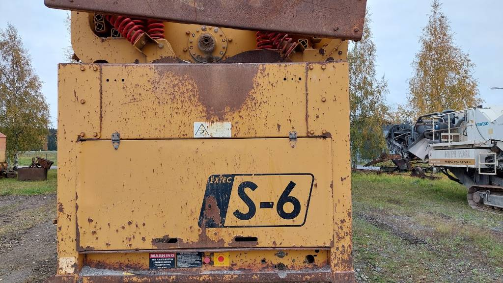 Extec S 6 (Sandvik QA441), Mobiiliseulat, Maarakennus