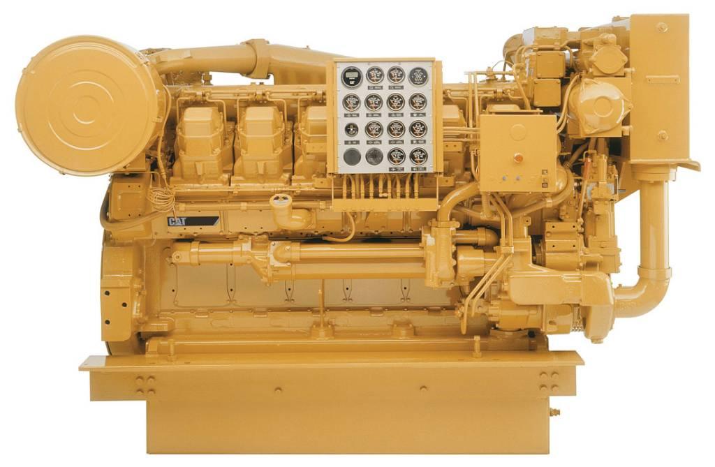 Caterpillar 3512 - Marine Propulsion 900 kW - DPH 104609, Marine Applications, Construction