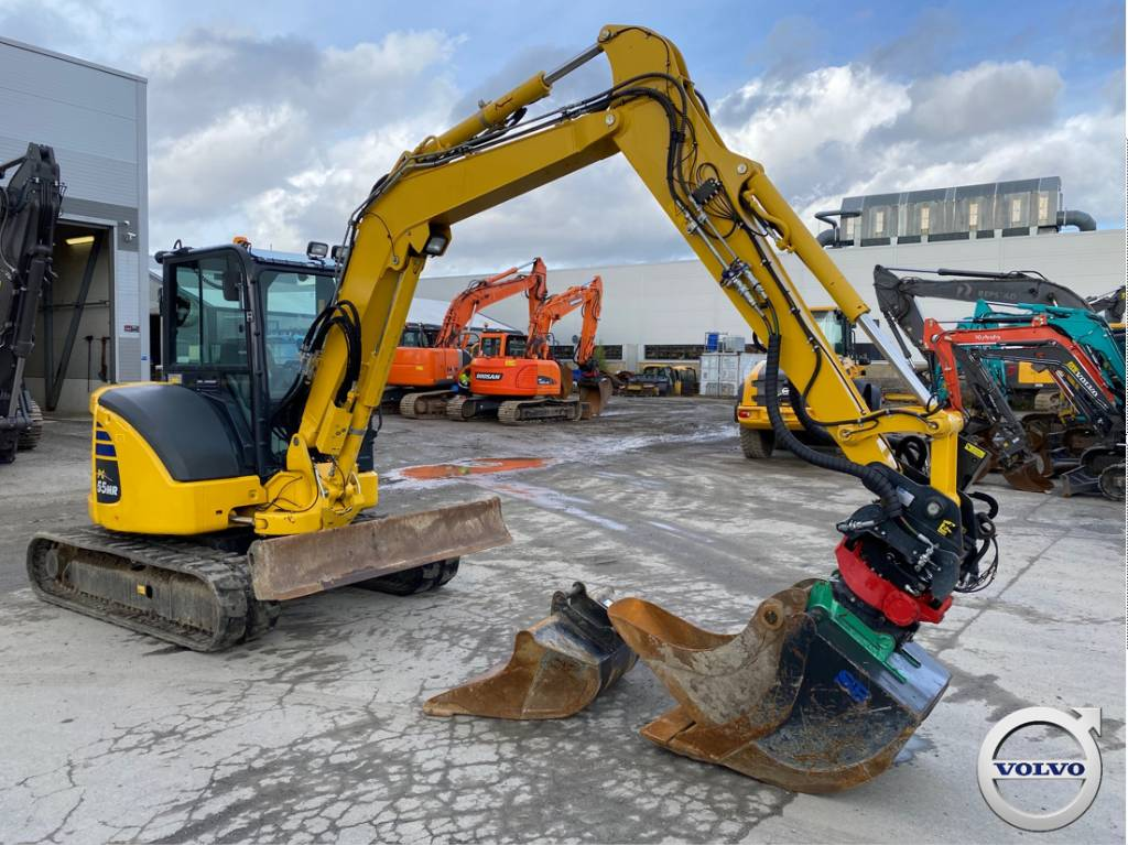 Komatsu PC55MR, Mini Excavators <7t (Mini Diggers), Construction Equipment