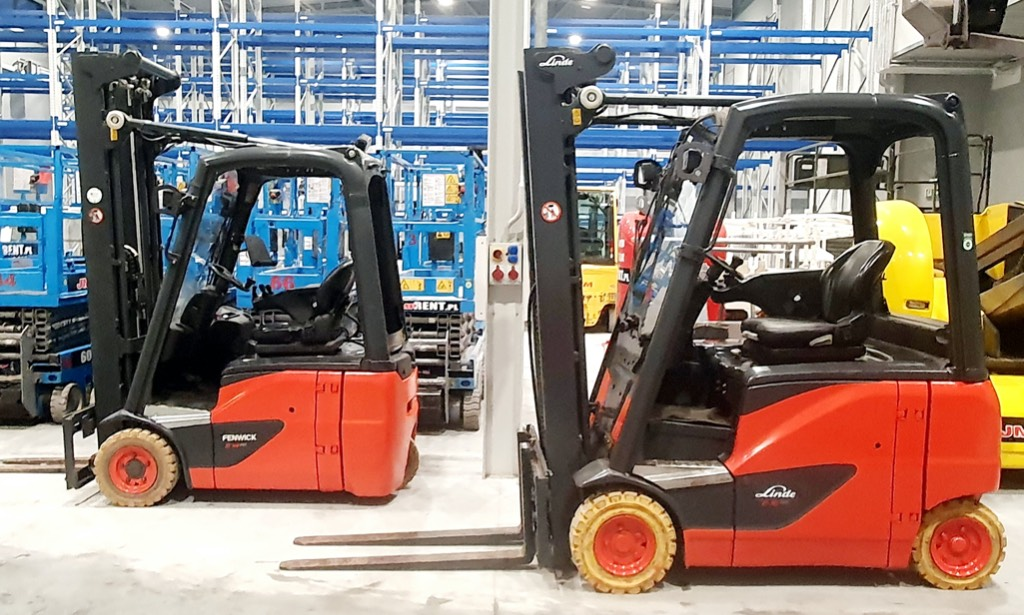 Linde E16PH-02, Electric forklift trucks, Material Handling