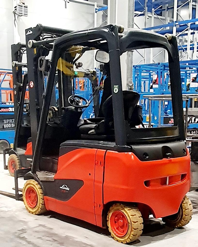 Linde E16PH-02, Wózki elektryczne, Magazynowanie