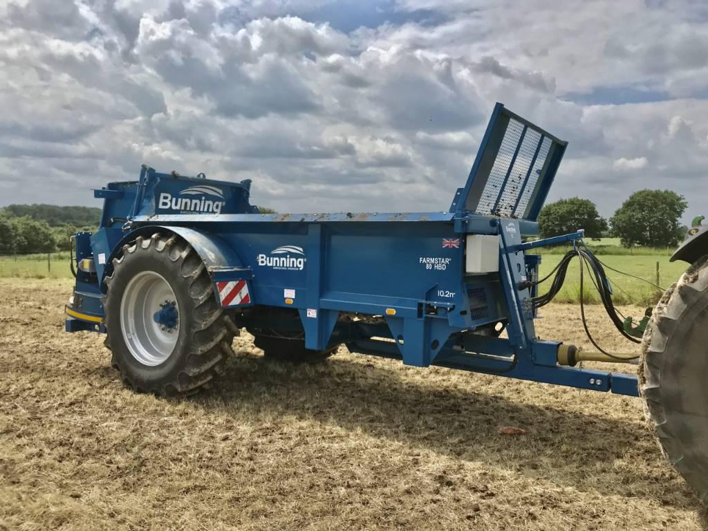 Bunning Farmstar 80 HBD, Gjødselspreder, Landbruk