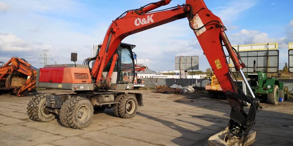 O&K MH PLUS, Koparki kołowe, Maszyny budowlane