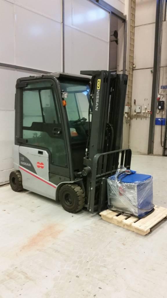 Nissan JG1N1L16Q, Sähkötrukit, Materiaalinkäsittely