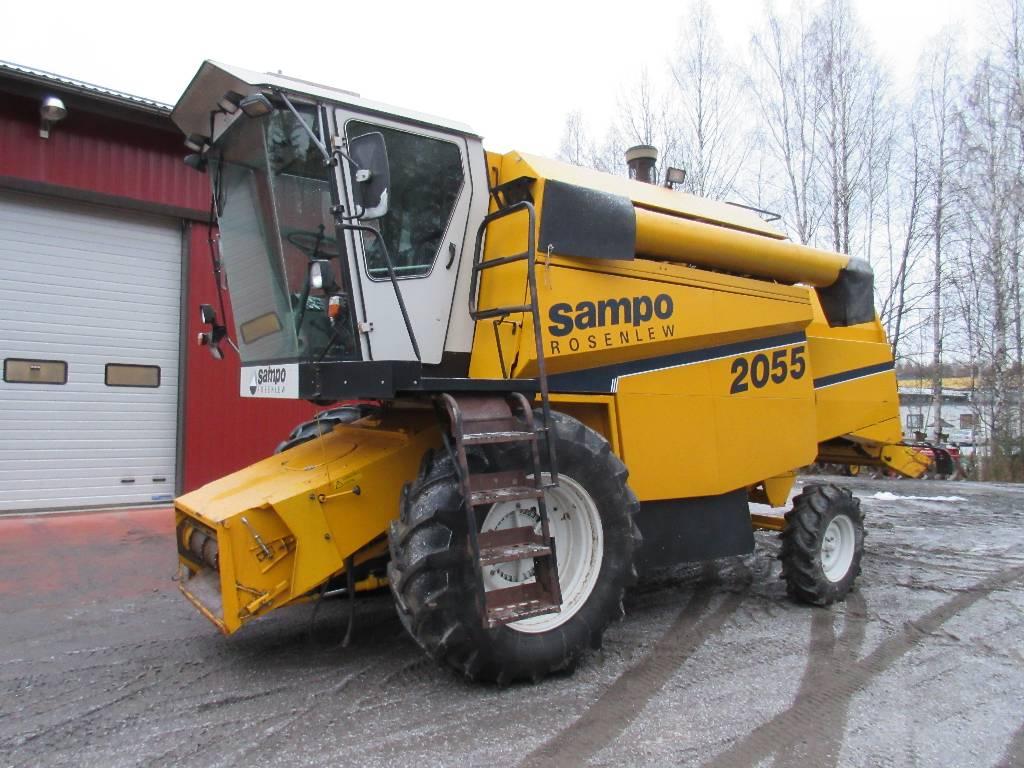 Sampo-Rosenlew 2055 Hydro, Leikkuupuimurit, Maatalous