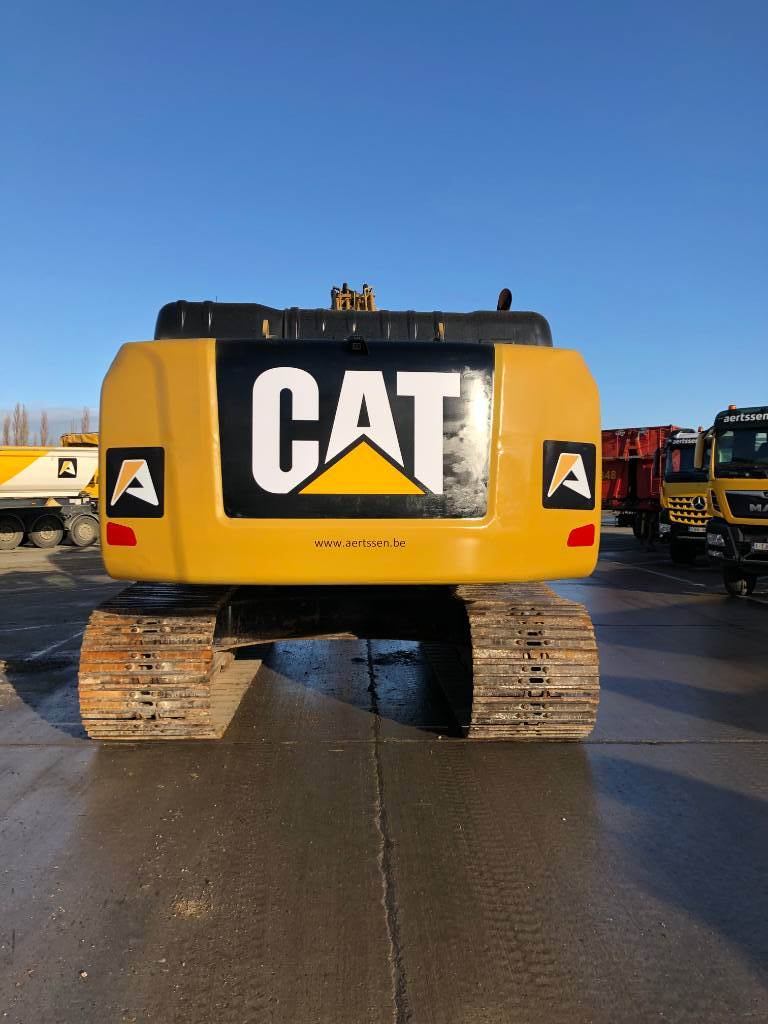 Caterpillar 336 FL XE, Crawler excavators, Construction