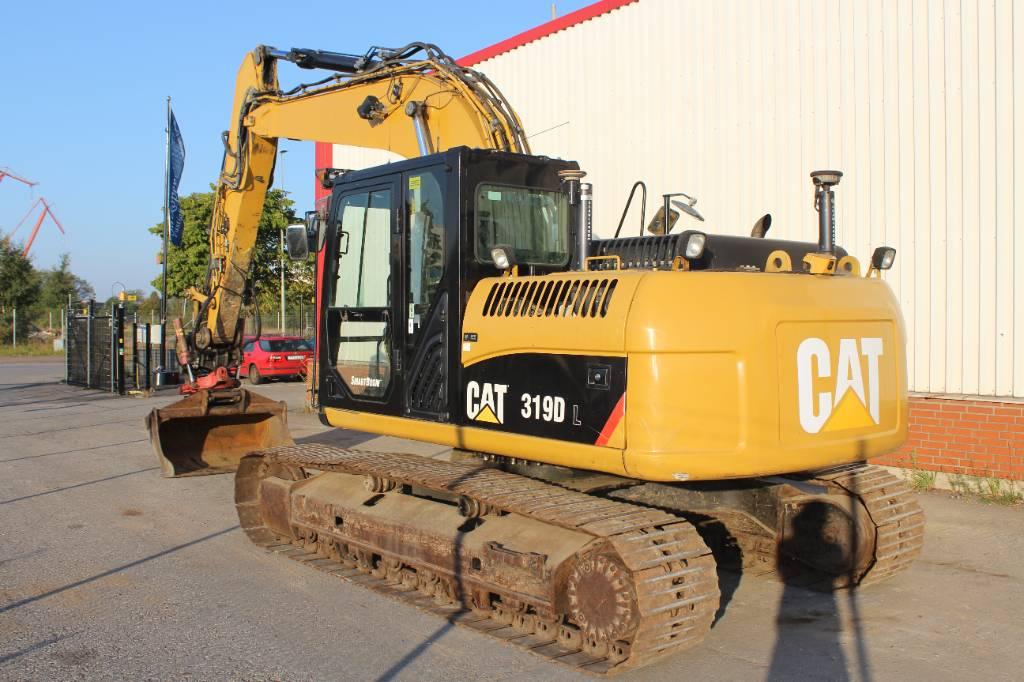 Caterpillar 319 D L, Bandgrävare, Entreprenad