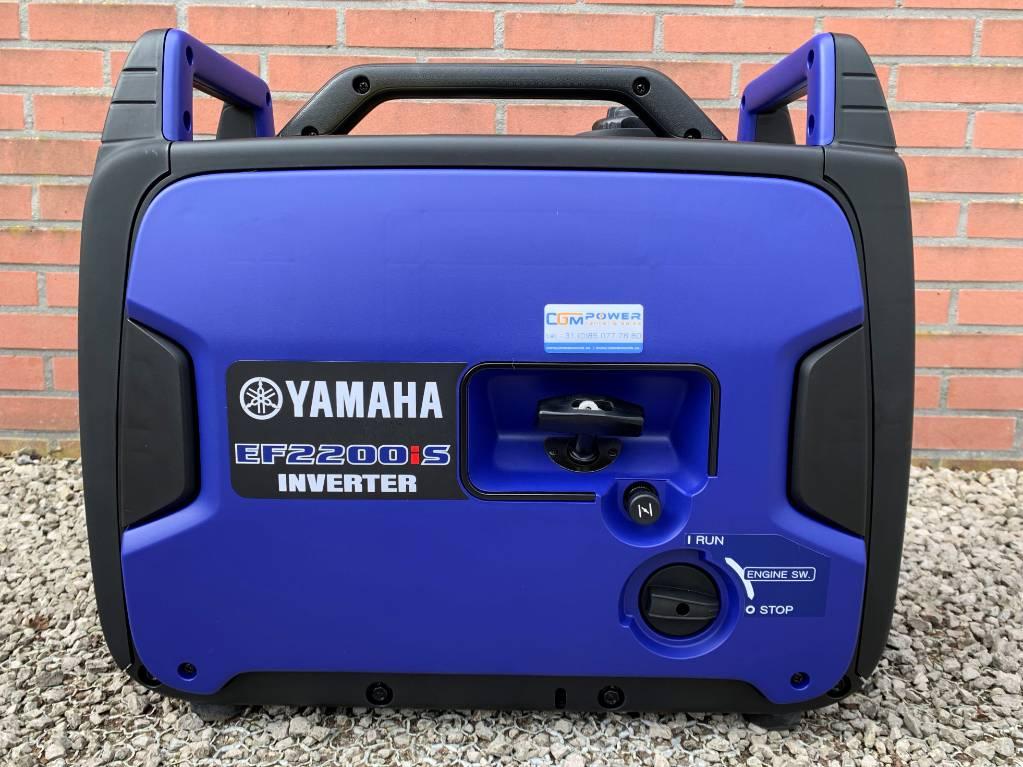 Yamaha EF2200iS inverter Aggregaat, Benzine generatoren, Bouw