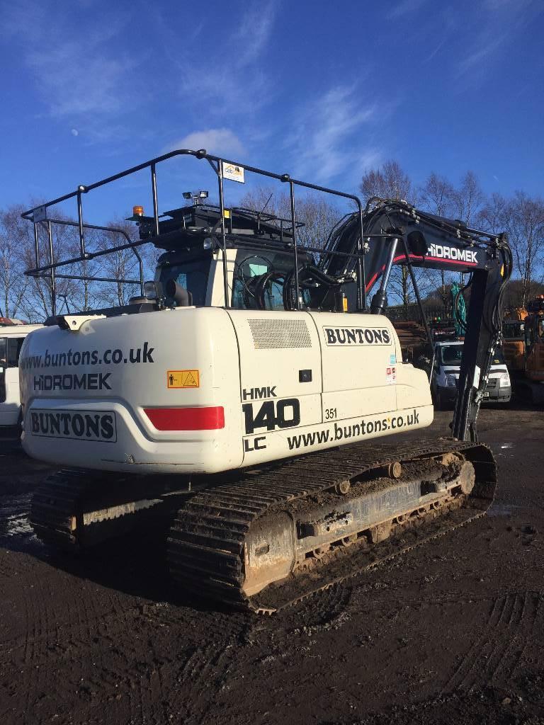 Hidromek HMK 140 LC, Crawler excavators, Construction