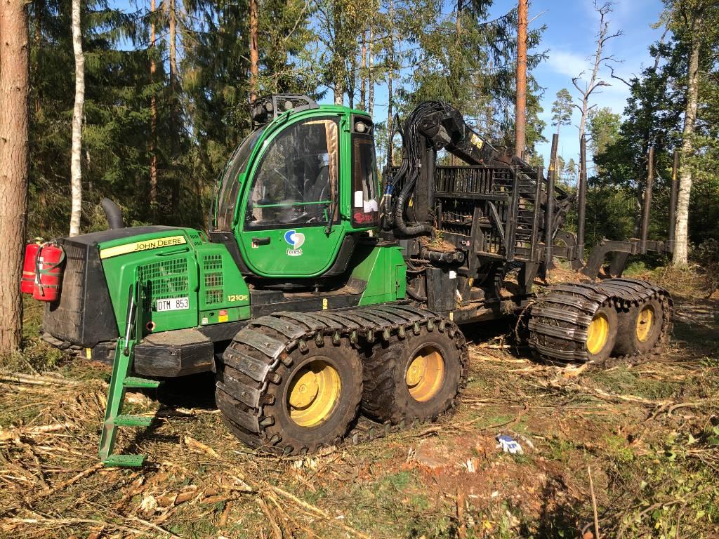 John Deere 1210 E, Forwarders, Forestry
