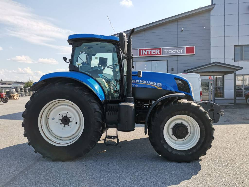 New Holland T 7.185 PCE, Traktorit, Maatalous
