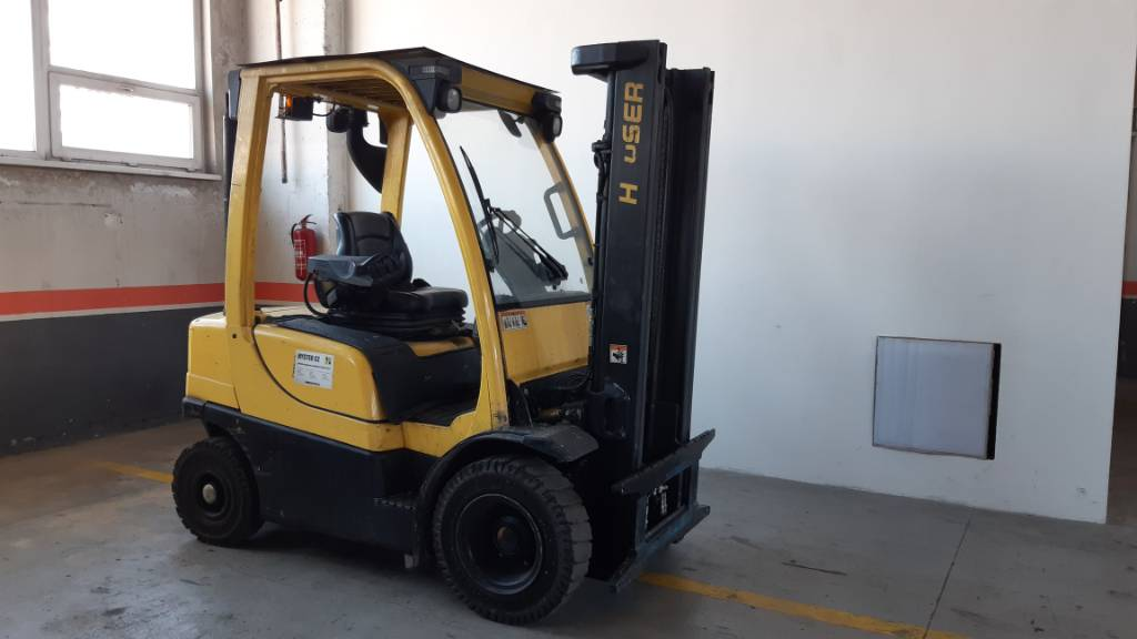 Hyster H2.0FT, Diesel counterbalance Forklifts, Material Handling