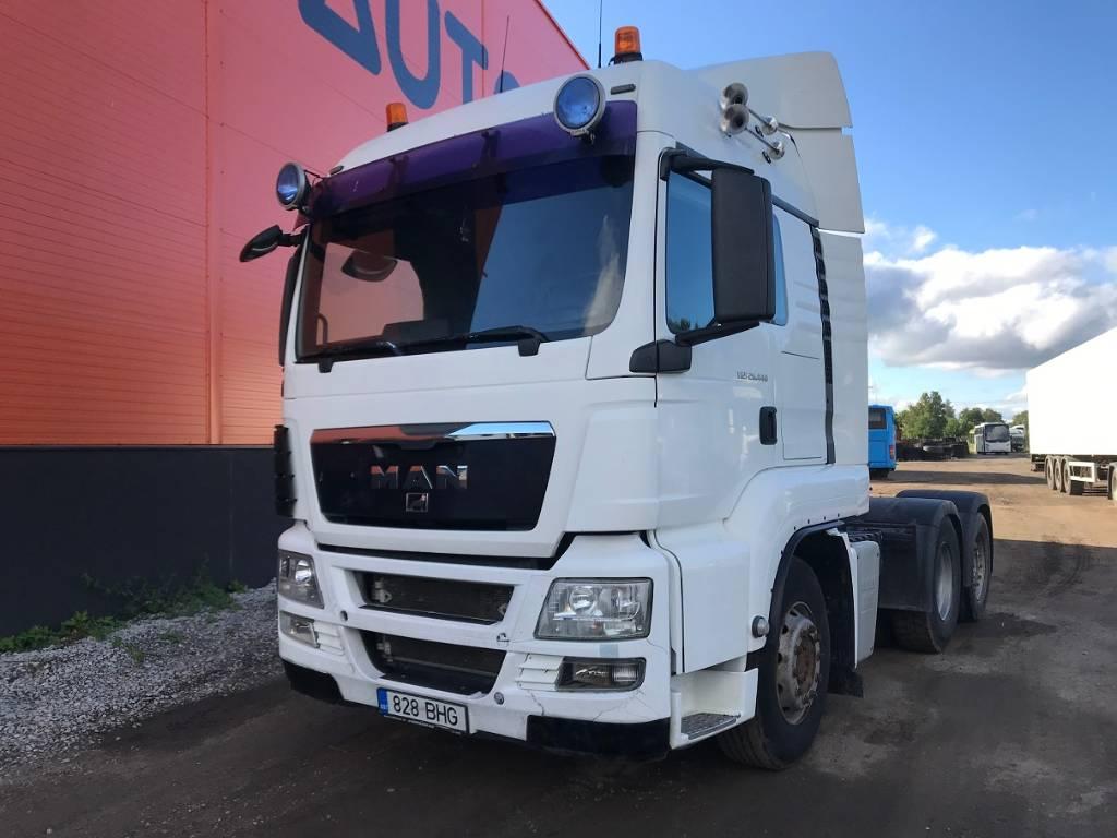 MAN TGS 26.440 6X2-2 HYDRAULICS, Conventional Trucks / Tractor Trucks, Trucks and Trailers