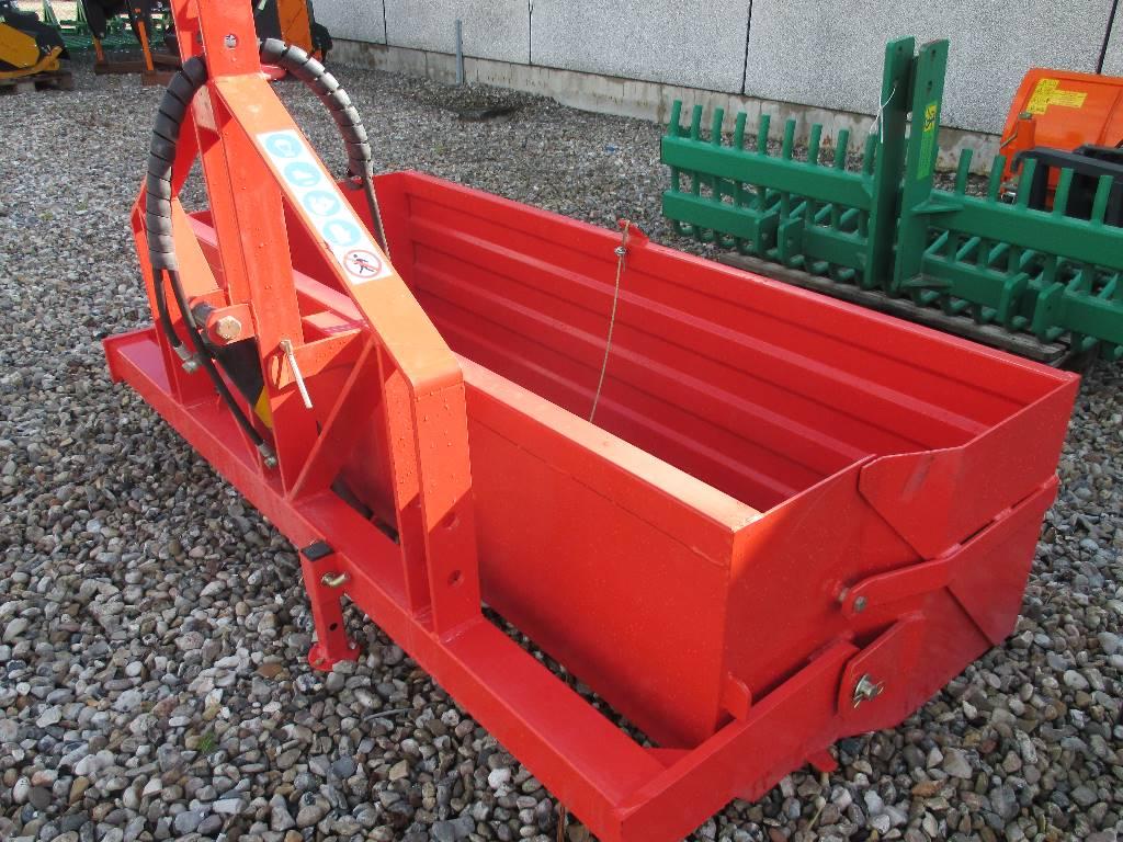 [Other] Bagtipskovl 2 m. med Hydraulik & bagklap., Andre landbrugsmaskiner, Landbrug