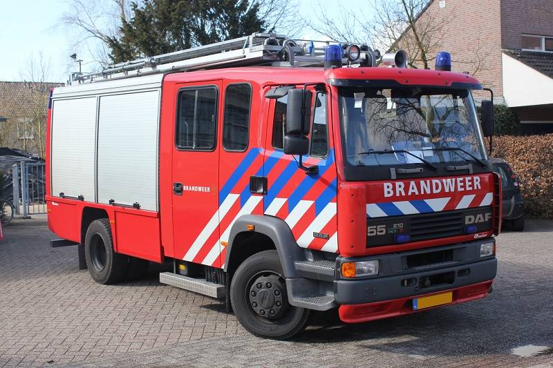 DAF 55-210TI, Fire trucks, Transportation