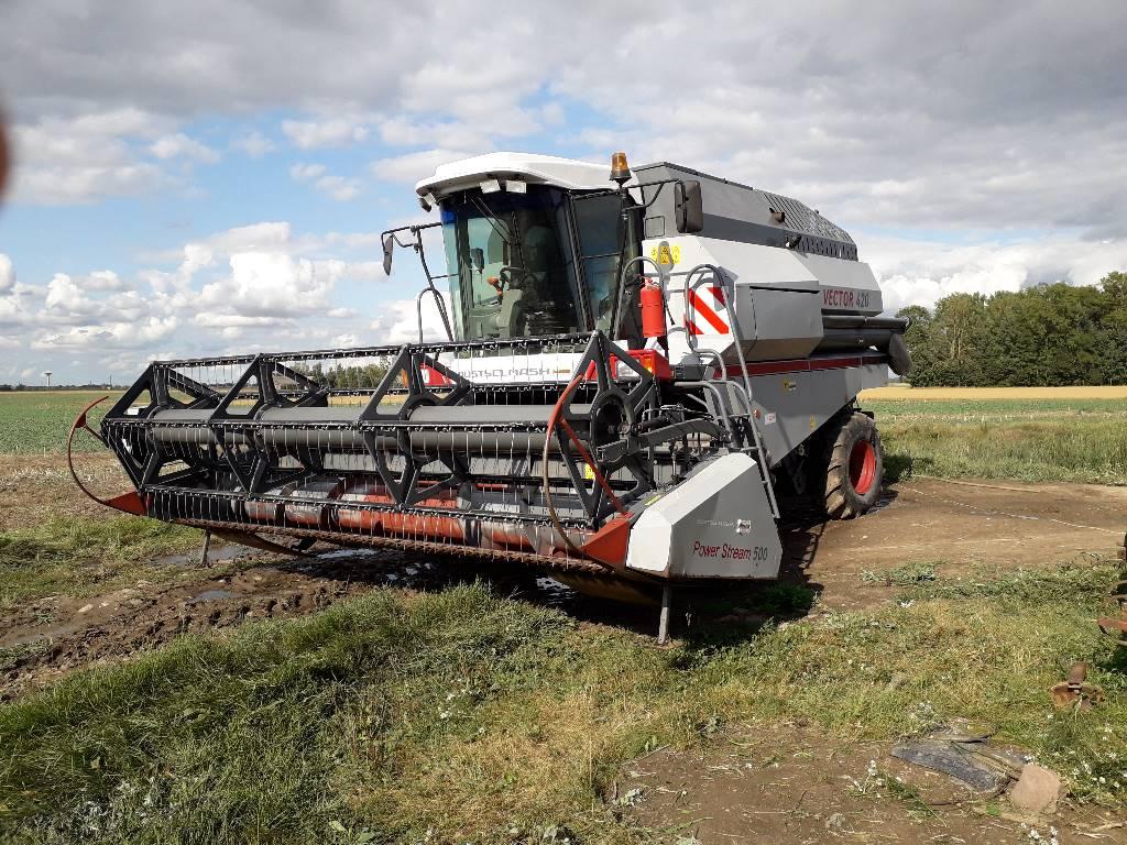 Rostselmash Vector 420, Derliaus nuėmimo kombainai, Žemės ūkis