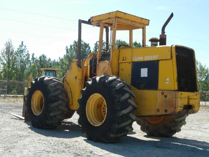 John Deere 544 C, Wheel Loaders, Construction Equipment
