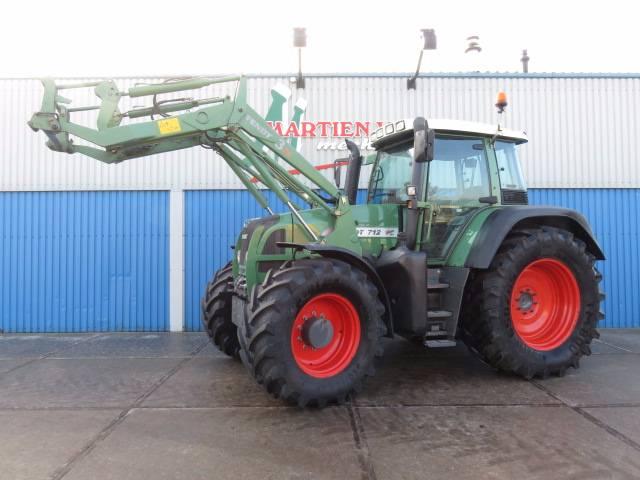 Fendt 712 Vario TMS, Tractoren, Landbouw