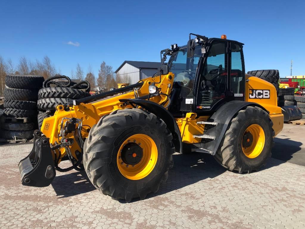 JCB TM420S, Traktorer, Lantbruk