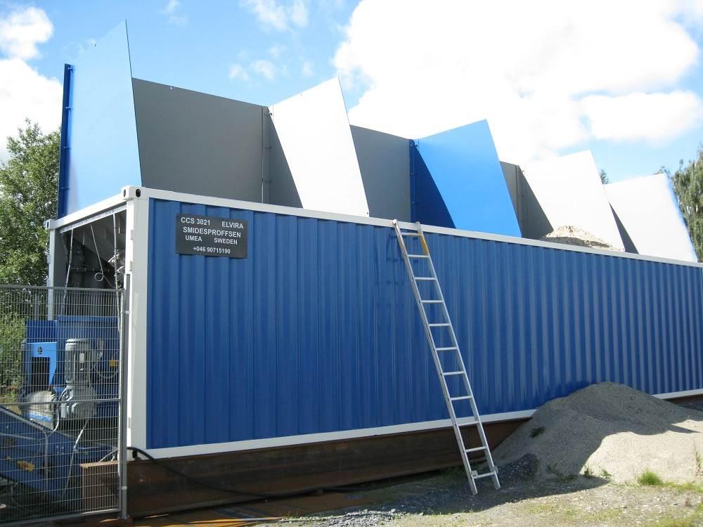 [Other] Betongvägningsfabrik Betongstation CCS 3021-Elvira, Cementtillverknings fabriker, Entreprenad