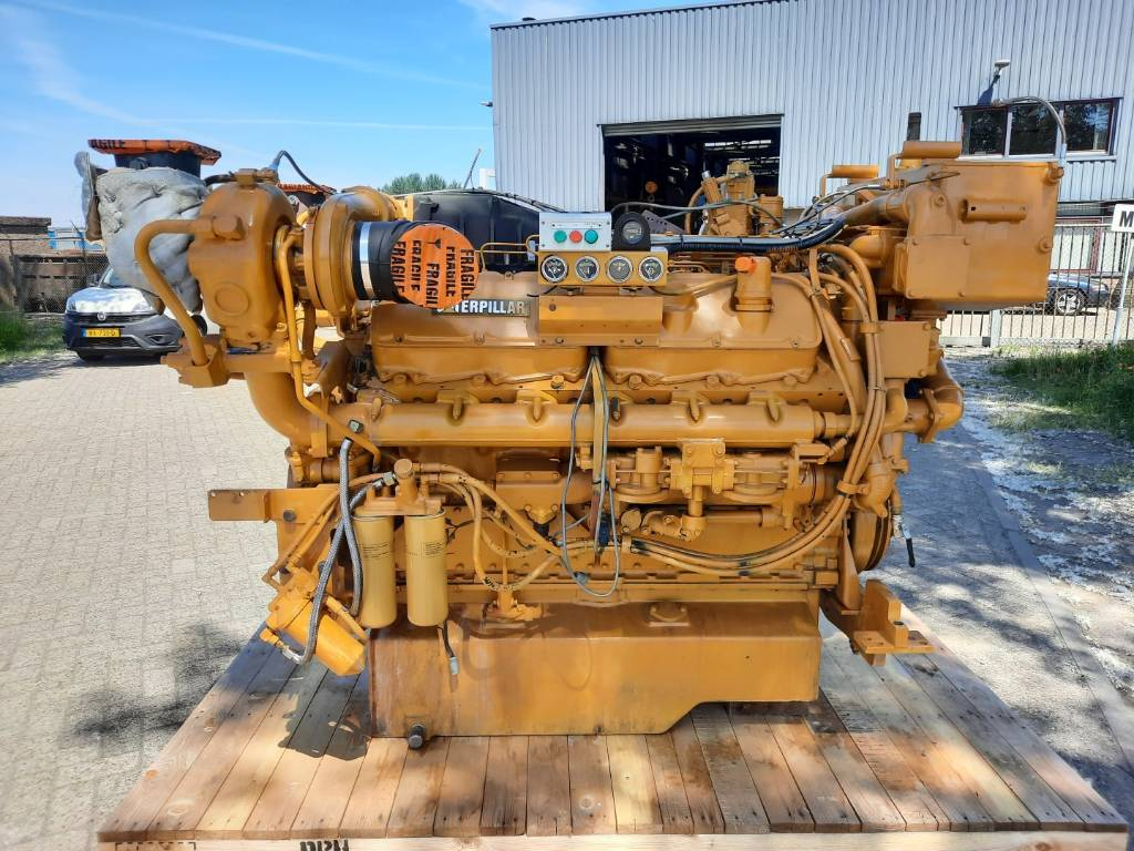 Caterpillar 3412 D - 846HP - 1800RPM - Marine Propulsion - REA, Marine Applications, Construction