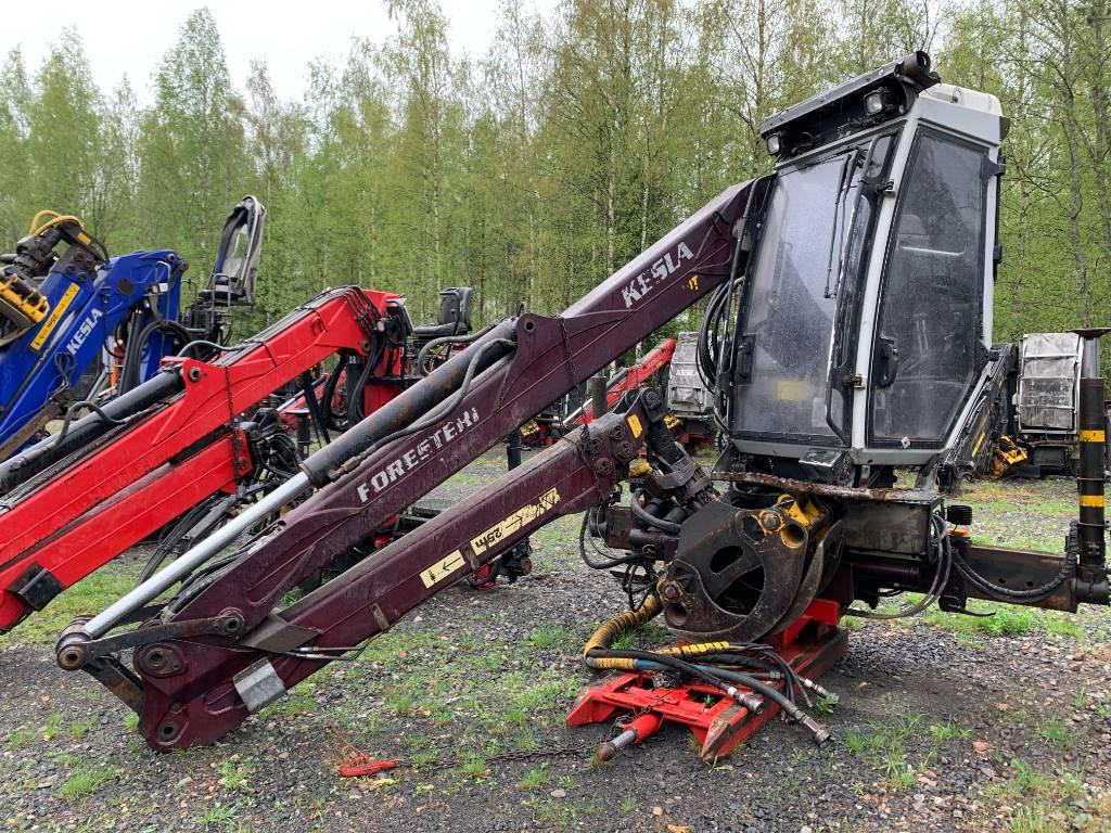Kesla 2110TH, Timber cranes, Transportation