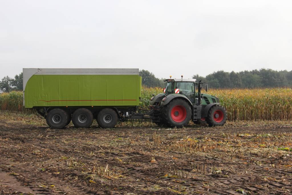 Kurstjens/AG-chem kipwagen met aalton 25m³, Kipperaanhangers, Landbouw