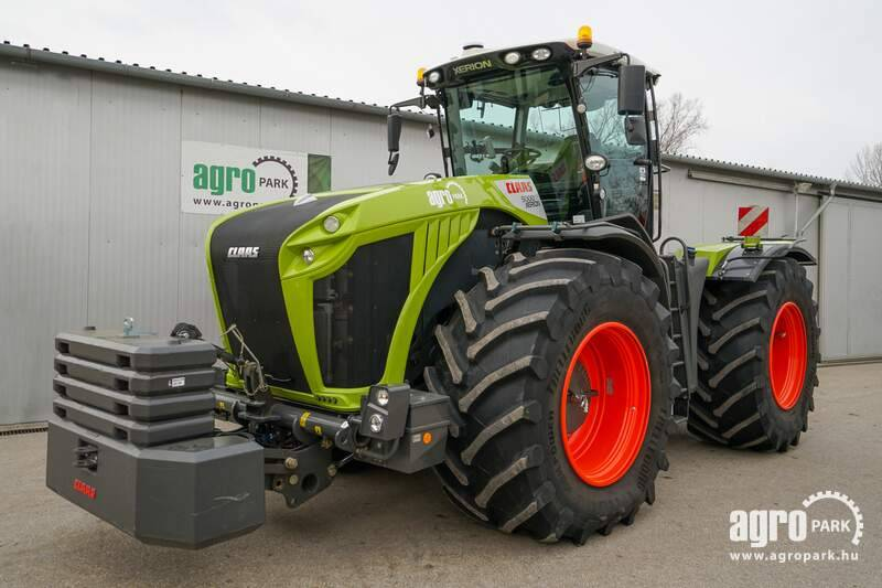 CLAAS Xerion 5000 VC DEMO (538 hours), Mercedes engine