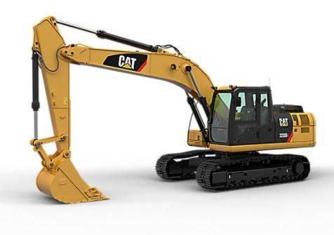 Caterpillar 320 D ( 2 pieces), Crawler excavators, Construction