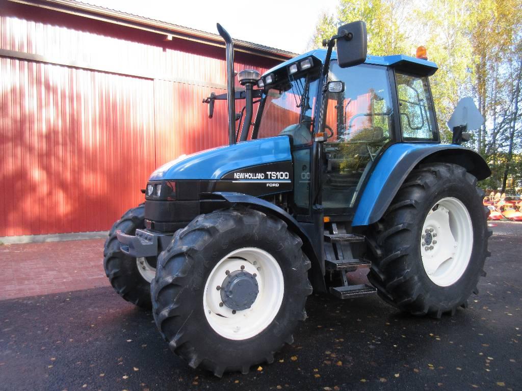 New Holland TS 100 ES, Traktorit, Maatalous
