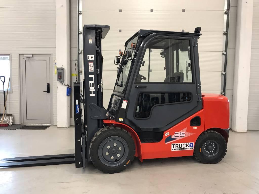 Heli CPCD35 (H3) - 3,5 t diesel - 4,7 m LH, Diesel Trucker, Truck