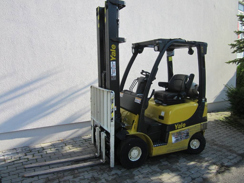 Yale GLP18VX, LPG counterbalance Forklifts, Material Handling