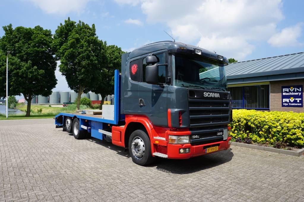 Scania 114 L 380, Oprijwagen, Transport