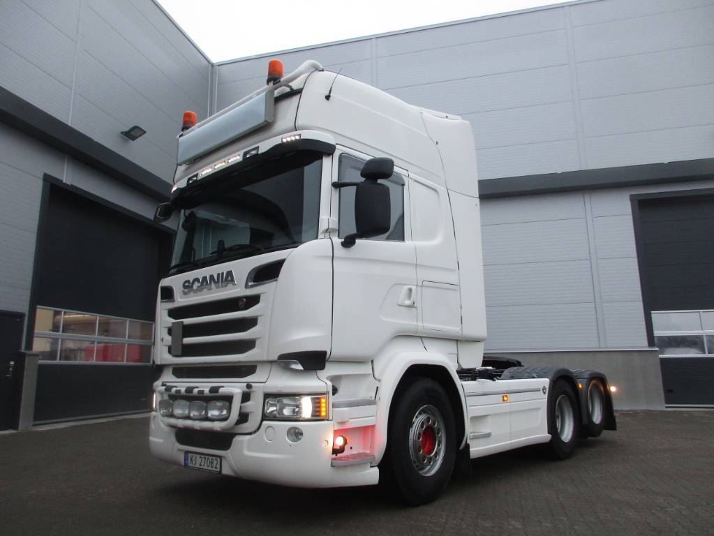 Scania R 580, Trekkvogner, Transport