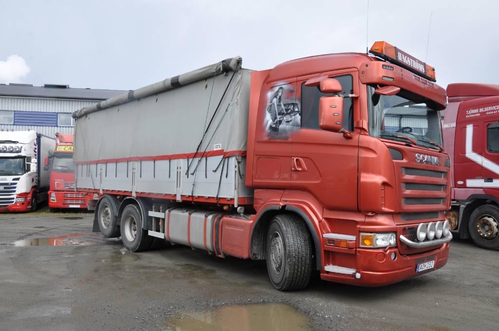 Scania R500 6x2, Tippbilar, Transportfordon
