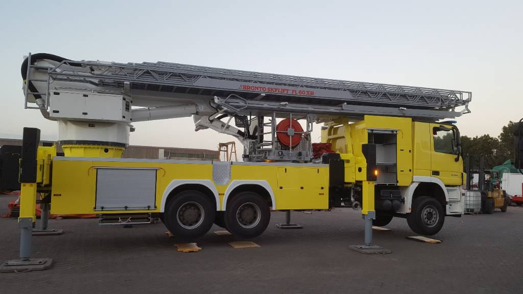 Bronto Skyklift F60XR, Truck mounted aerial platforms, Construction
