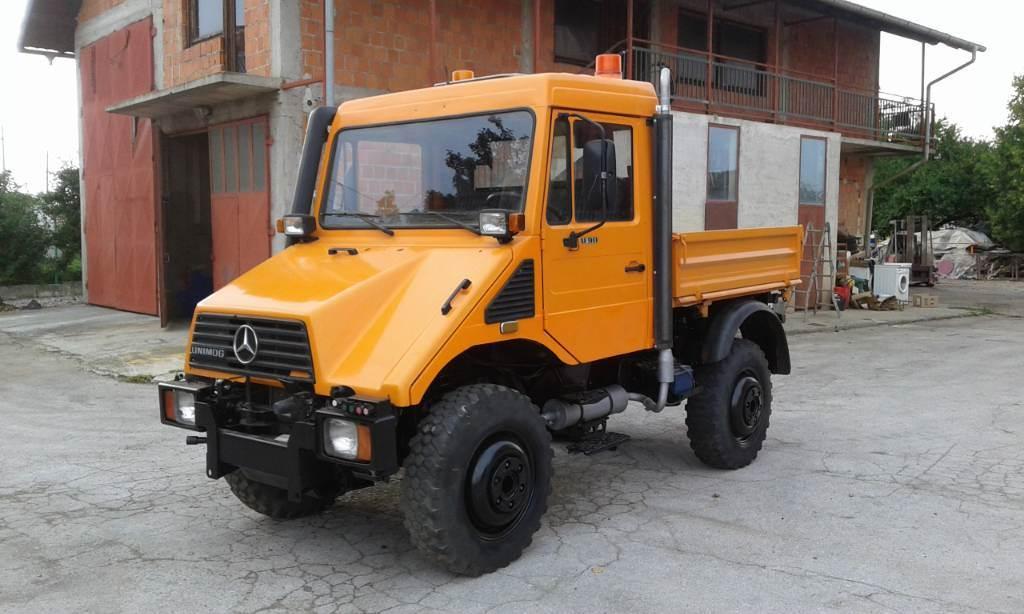 Unimog U90, Vozila za prijevoz opreme za rad, Komunalna tehnika