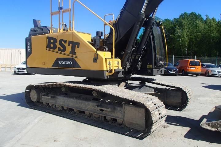 Volvo EC 250 EL, Crawler Excavators, Construction Equipment