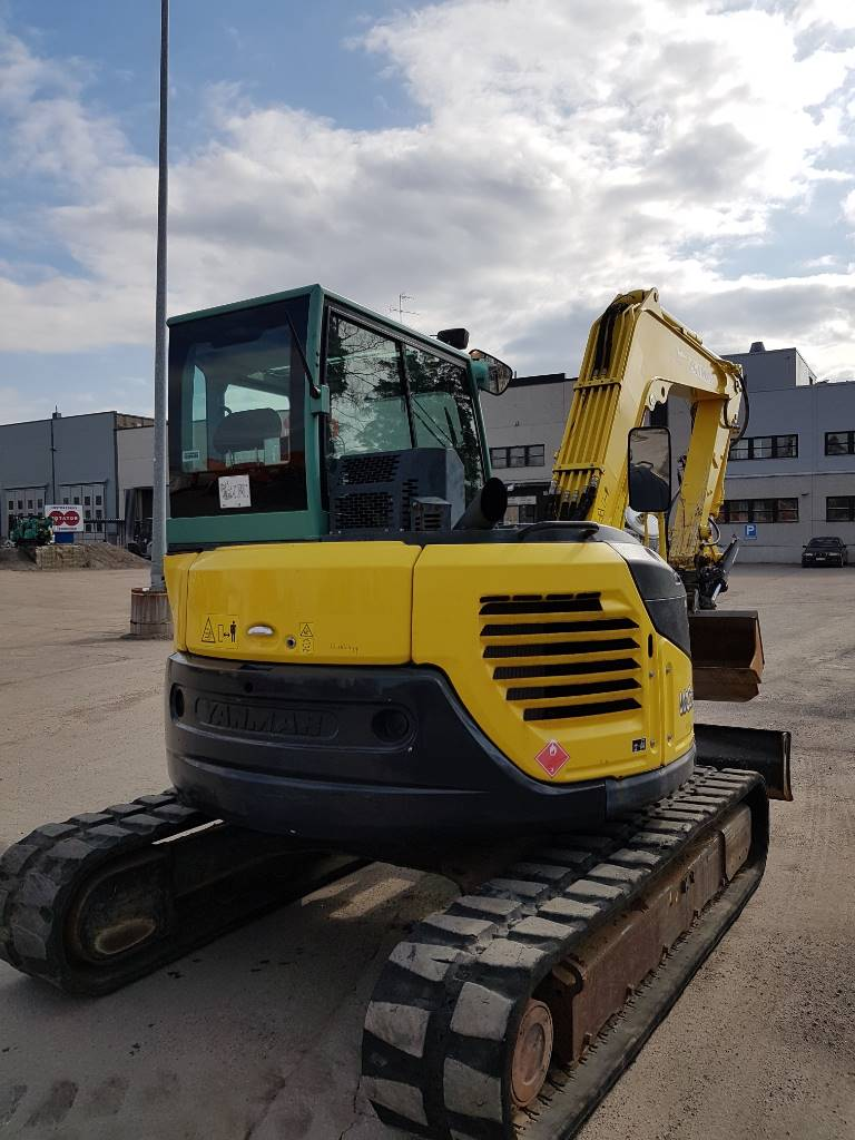 Yanmar Vio 80, Midi excavators  7t - 12t, Construction