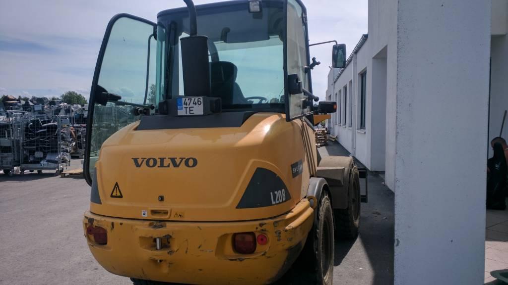 Volvo L20B, Kahveltõstukid - muud, Materjalikäsitlus