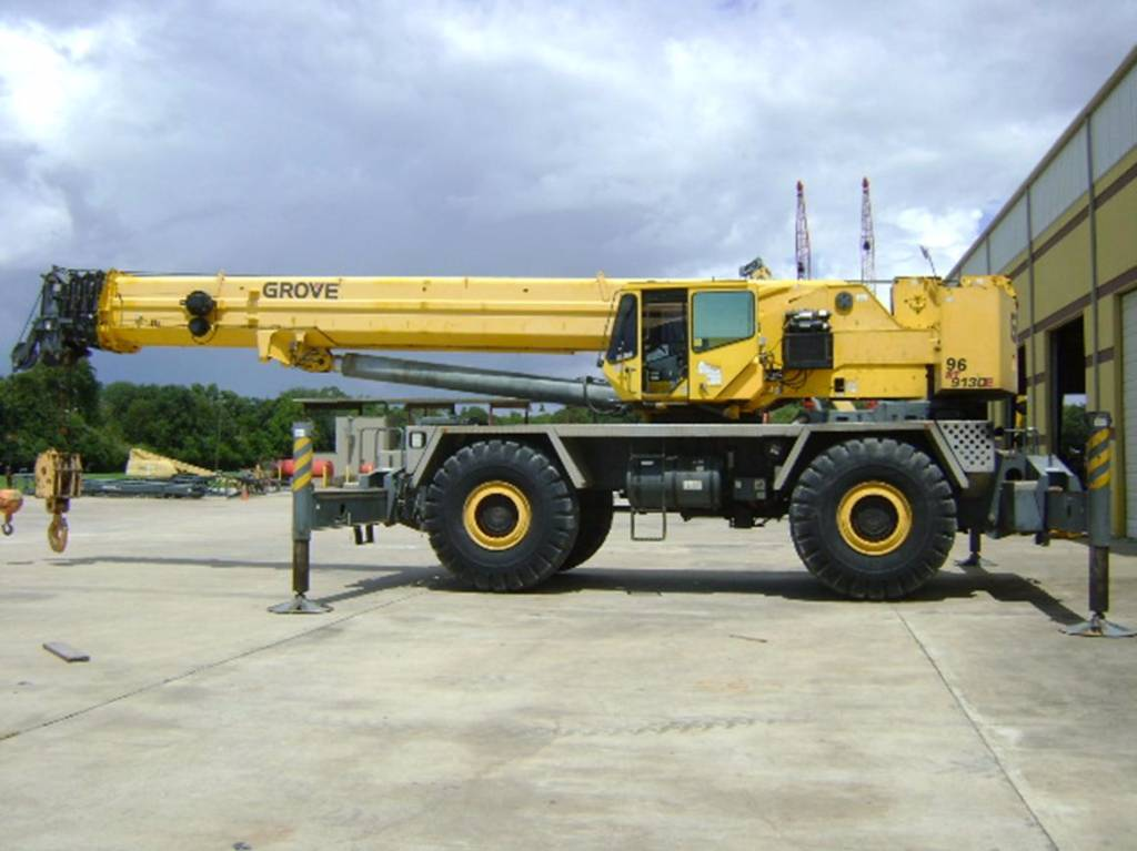 Grove 9130E C117, Rough Terrain Cranes, Construction Equipment