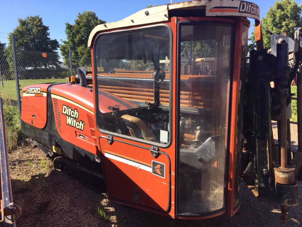 Ditch Witch JT2020 MACH 1, Horisontella borriggar, Entreprenad