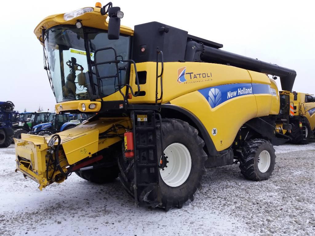 New Holland CX 8050, Kombainid, Põllumajandus