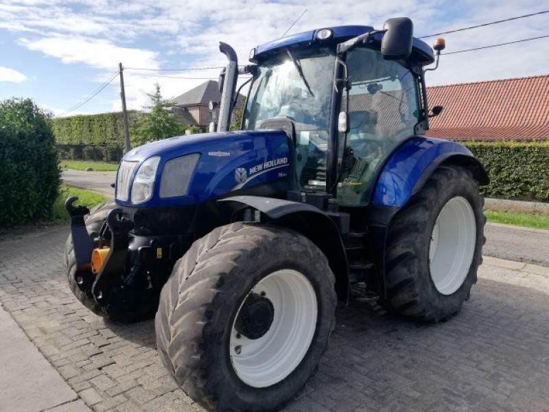 New Holland T6.160 Auto Command CVT, Tractoren, Landbouw