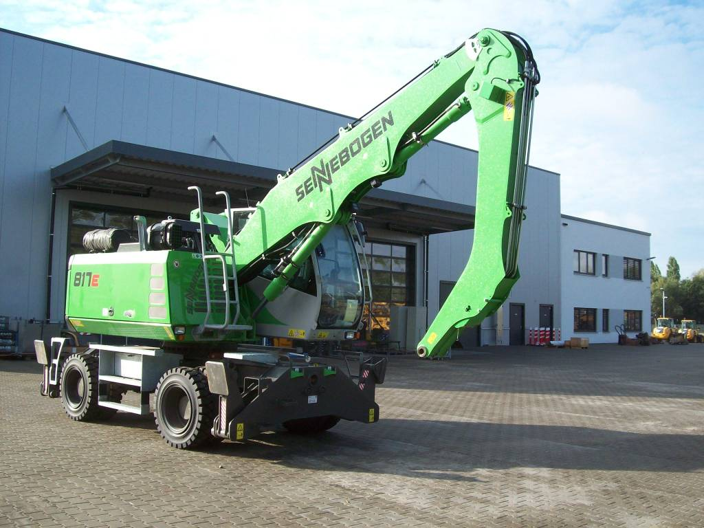 Sennebogen S 817 M-E, Waste / Industry Handlers, Construction Equipment