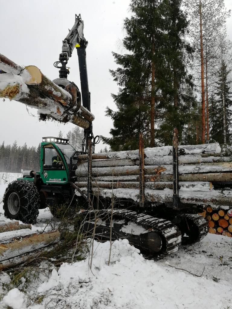 Prosilva F2, Kuormatraktorit, Metsäkoneet