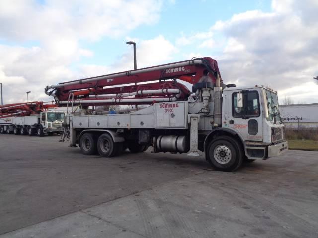 Schwing 39M, Boom Pumps, Construction Equipment