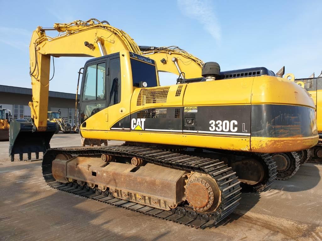 Caterpillar 330 CL, Crawler Excavators, Construction Equipment
