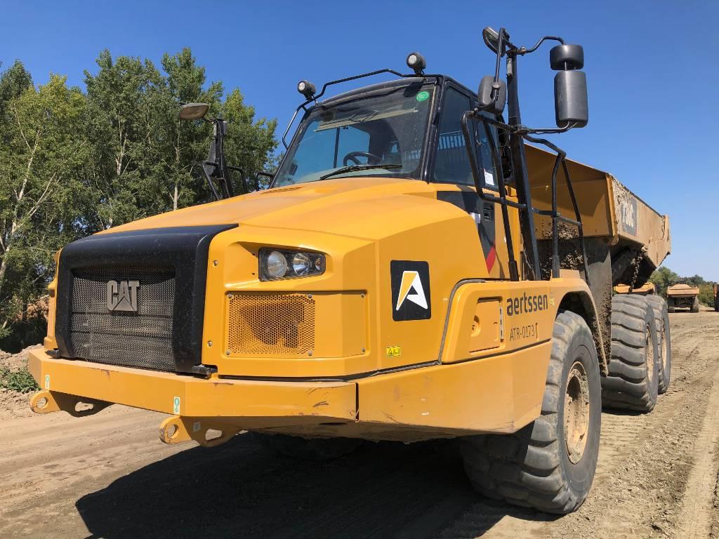 Caterpillar 730 C, Articulated Dump Trucks (ADTs), Construction