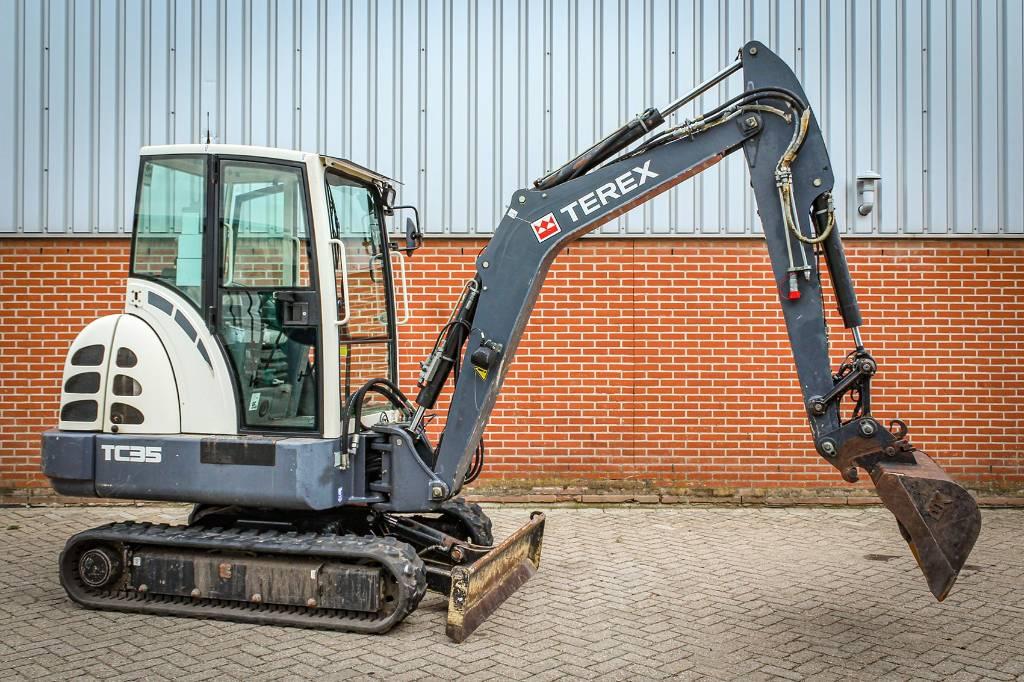 Terex TC 35, Mini excavators, Construction